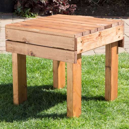 Garden drinks table