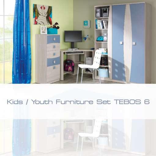 Kids / Youth Furniture Set TEBOS 6