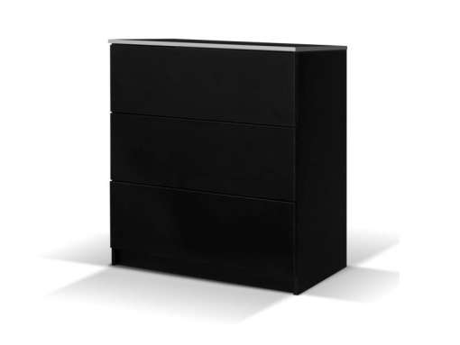 Chest of Drawers VISTA Black