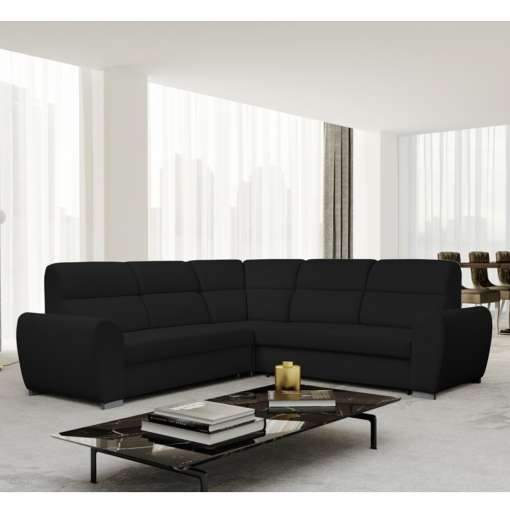 Corner Sofa Bed KENZO Dark Grey