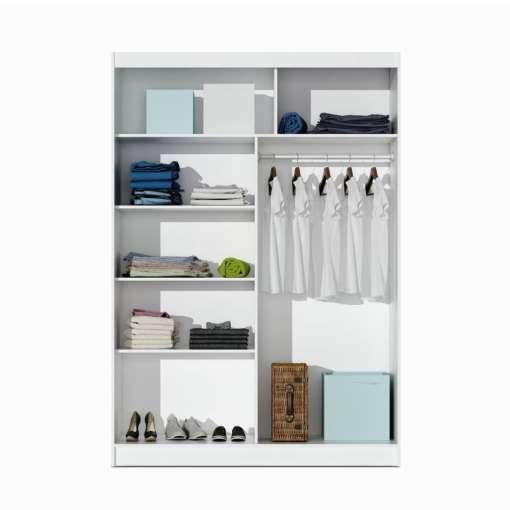Wardrobe PARIS 150 White
