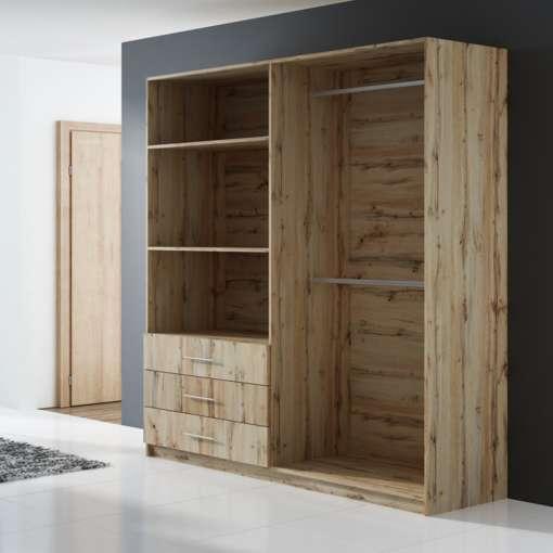 Wardrobe PEKIN D4 Oak Wotan