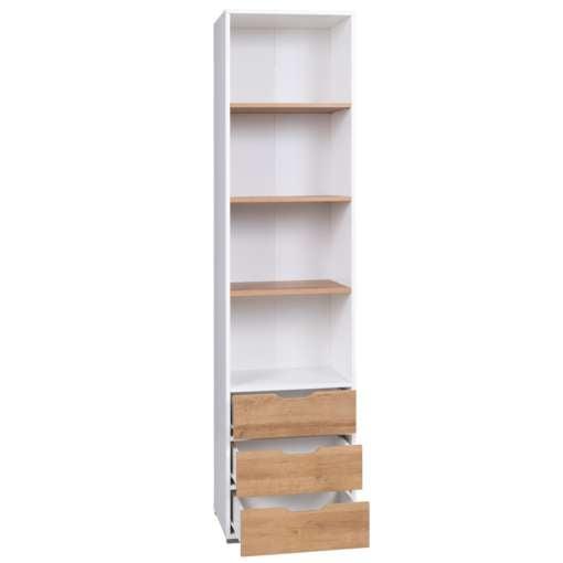 Narrow Bookcase MALLOM