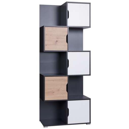 Wide Bookcase MALLOM
