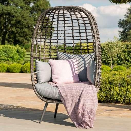 Riviera Pod Chair - Grey