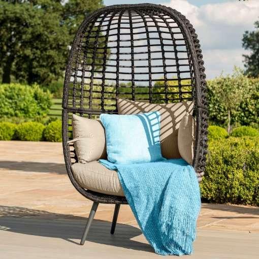 Riviera Pod Chair - Brown