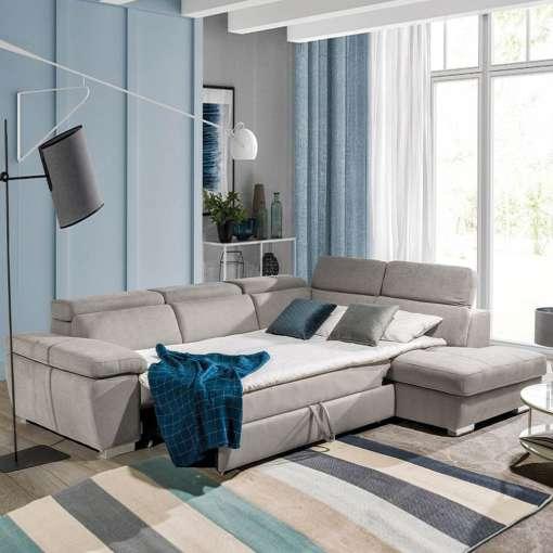 Corner Sofa Bed REGINI Right Special Offer