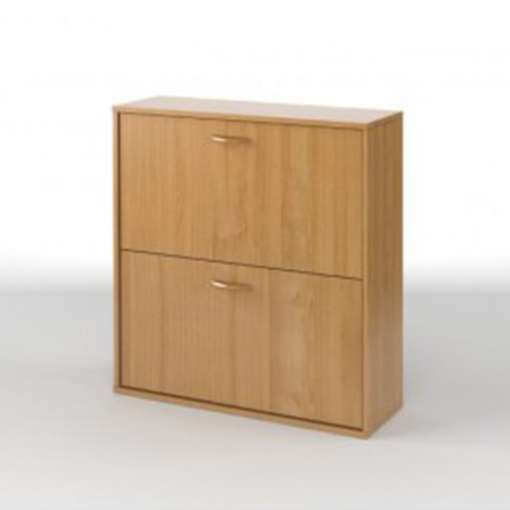 Shoe Storage - Basket-Beech