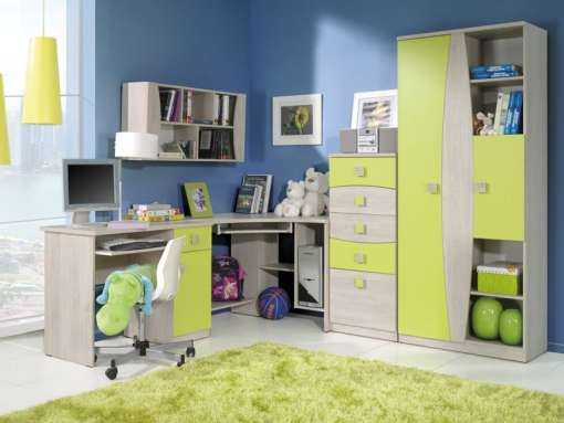 Kids / Youth Room Furniture Set TEBOS 11