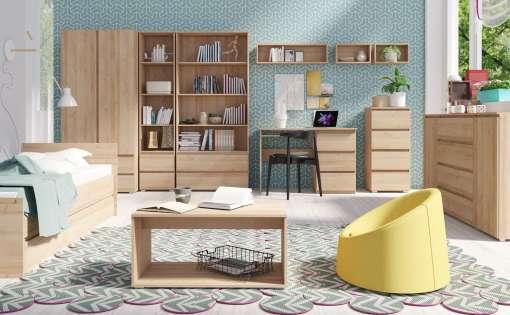 Bedroom Furniture Set COSMO Oak Sonoma