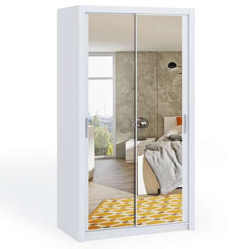 Wardrobe 120 BONITO  with mirror