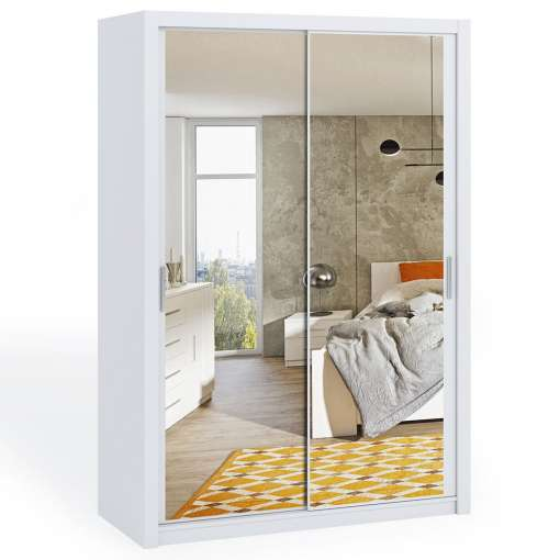 Wardrobe 150 BONITO with mirror