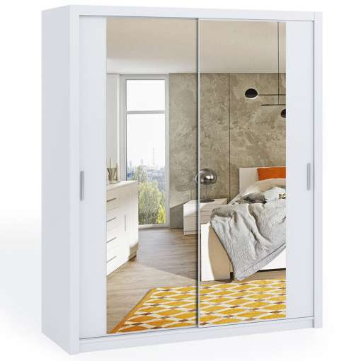 Wardrobe 180 BONITO with mirror