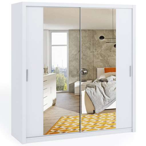 Wardrobe 200 BONITO with mirror