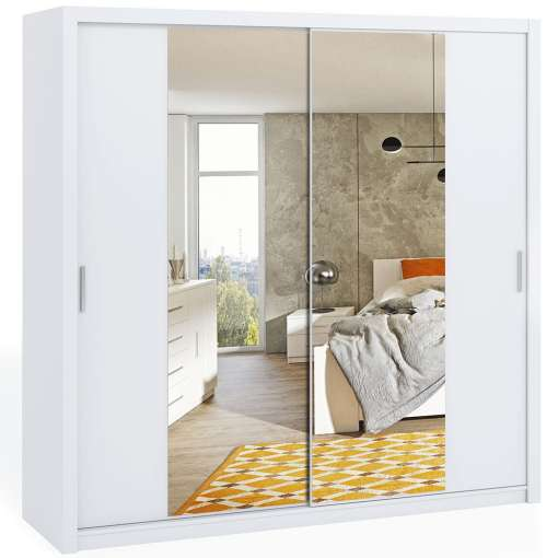 Wardrobe 220 BONITO with mirror