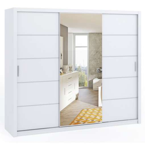 Wardrobe 250 BONITO with mirror