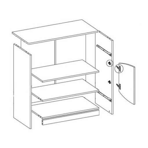 Cupboard T K2D2SZ