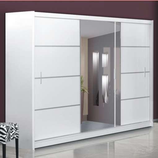 Wardrobe VISTA 250 White