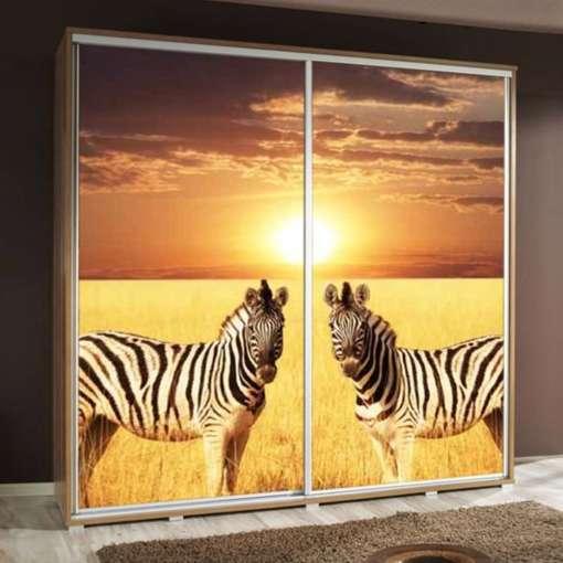 Wardrobe PENELOPA 205 Zebras 2