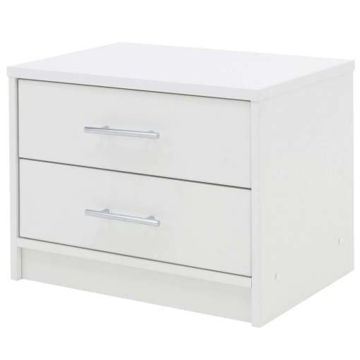 Bedside Table BREMA White