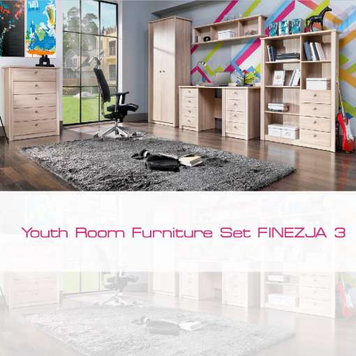 Youth Room Furniture Set FINEZJA 3
