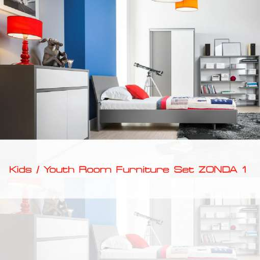 Kids / Youth Room Furniture Set ZONDA 1