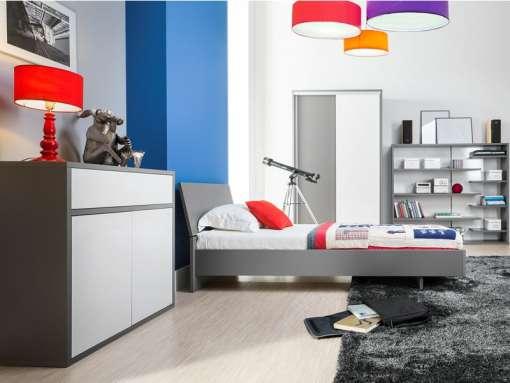 Kids / Youth Room Furniture Set ZONDA 1